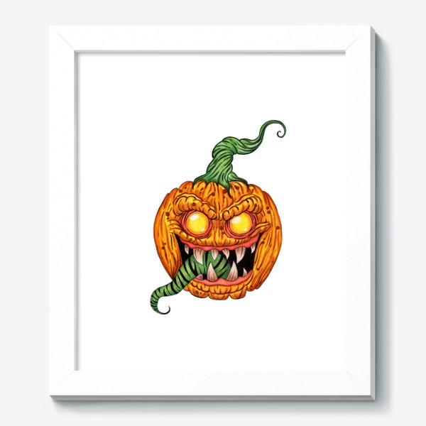 Картина «Злая тыква»