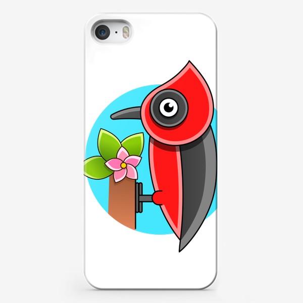 Чехол iPhone «Дятел»