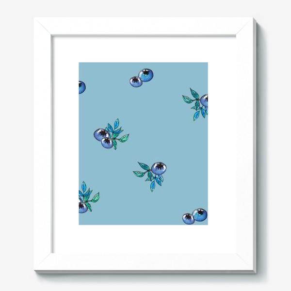Картина «Фон с россыпью голубики»