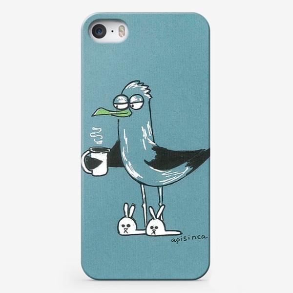 Чехол iPhone «Утро чайки»