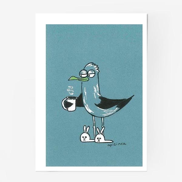 Постер «Утро чайки»
