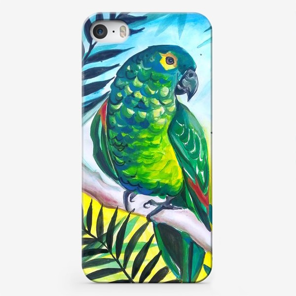 Чехол iPhone «В тропиках»