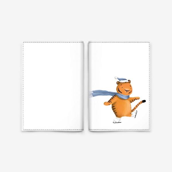 Обложка для паспорта «Тигренок»