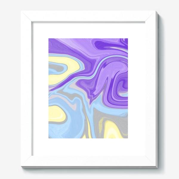 Картина «Мраморный узор»