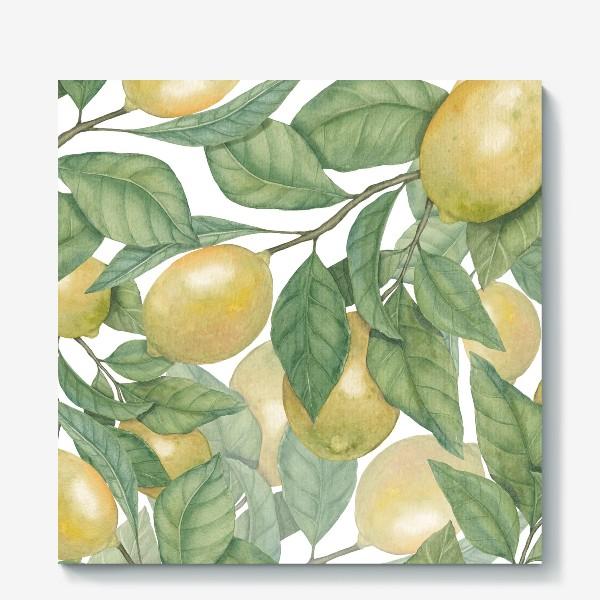 Холст «Лимоны»