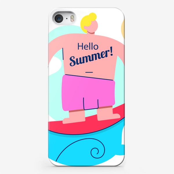 Чехол iPhone «Привет Лето!»