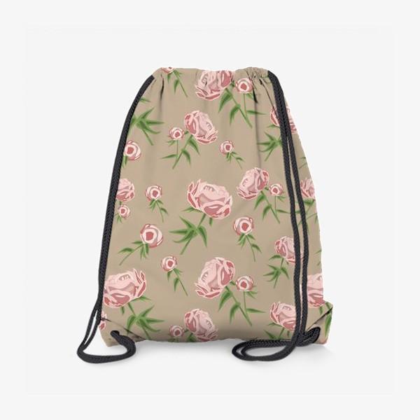 Рюкзак «Нежные пионы»