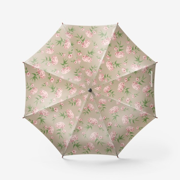 Зонт «Нежные пионы»