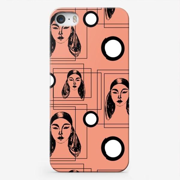 Чехол iPhone «Ретро стиль»