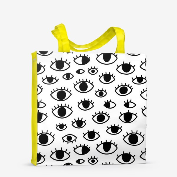 Сумка-шоппер «Глаза»
