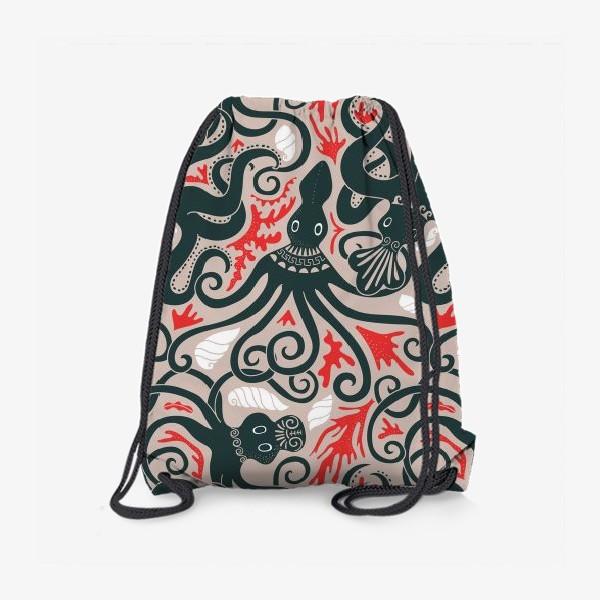 Рюкзак «Минойские греческие осьминоги»