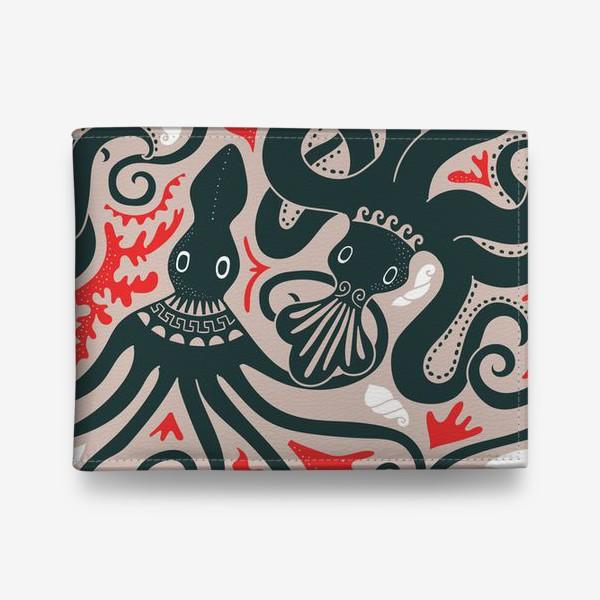 Кошелек «Минойские греческие осьминоги»