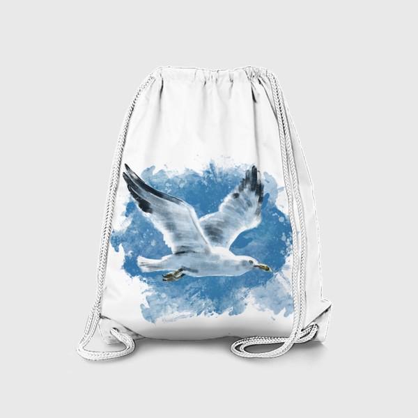 Рюкзак «Чайка в полете»
