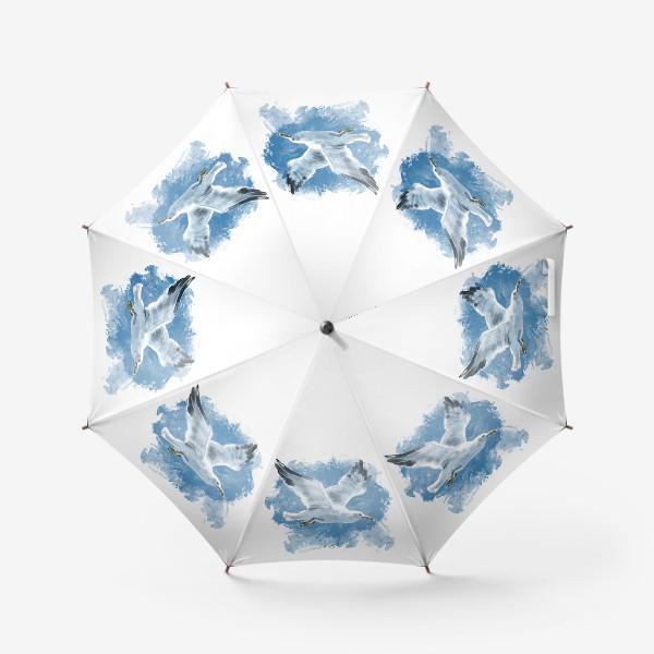 Зонт «Чайка в полете»