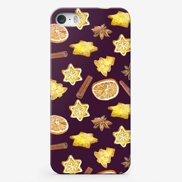 Чехол iPhone «печенье и пряности »