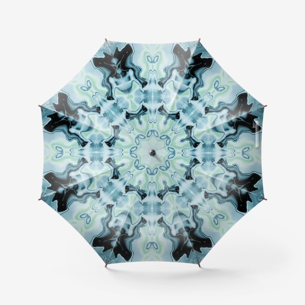 "Зонт «Абстракт ""Голубая бабочка""»"