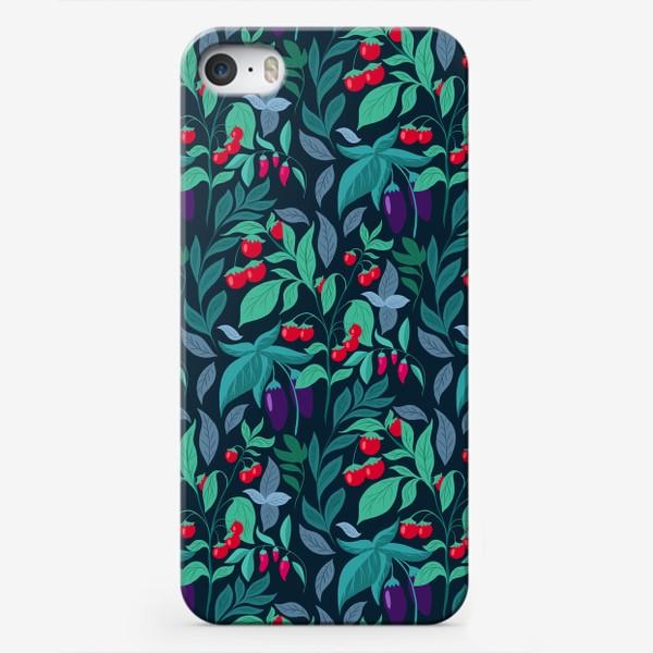 Чехол iPhone «Паттерн огород »