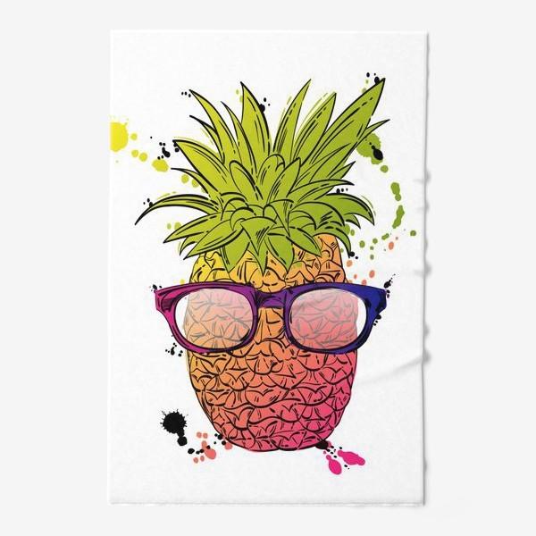 Полотенце «Иллюстрация летнего ананаса»