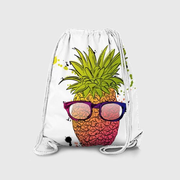 Рюкзак «Иллюстрация летнего ананаса»