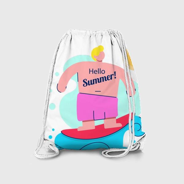 Рюкзак «Привет Лето!»