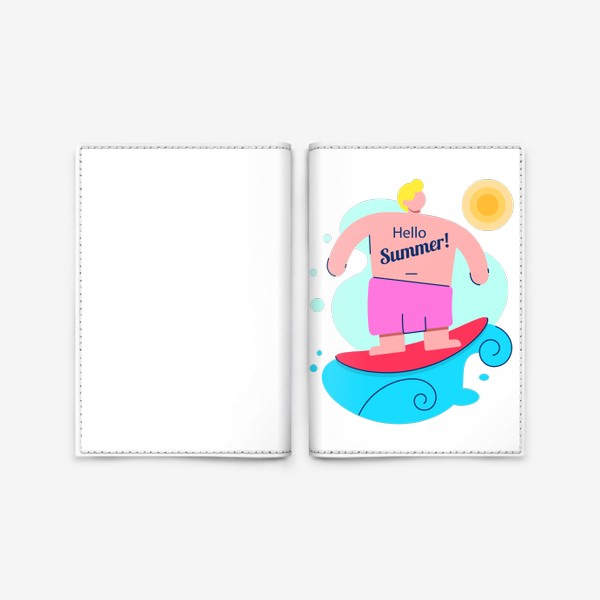 Обложка для паспорта «Привет Лето!»