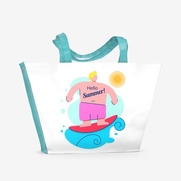 Пляжная сумка «Привет Лето!»