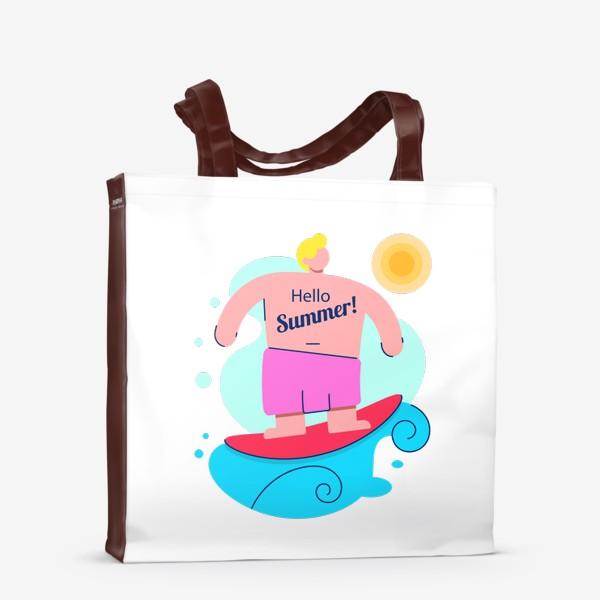 Сумка-шоппер «Привет Лето!»