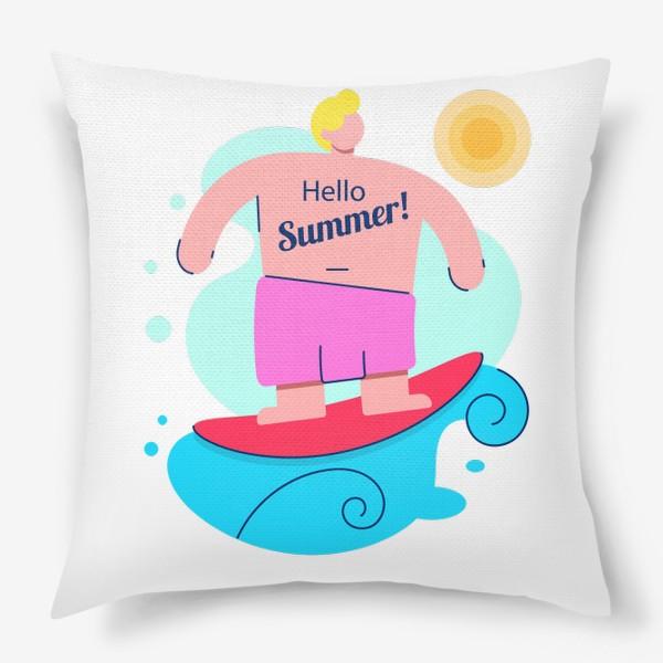 Подушка «Привет Лето!»
