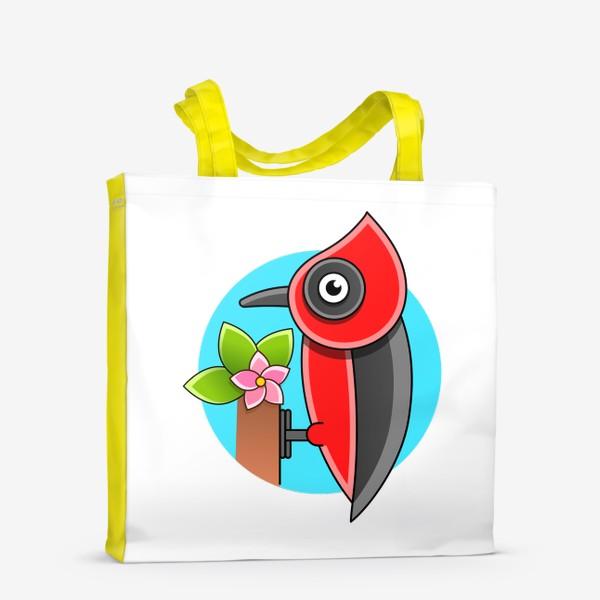 Сумка-шоппер «Дятел»