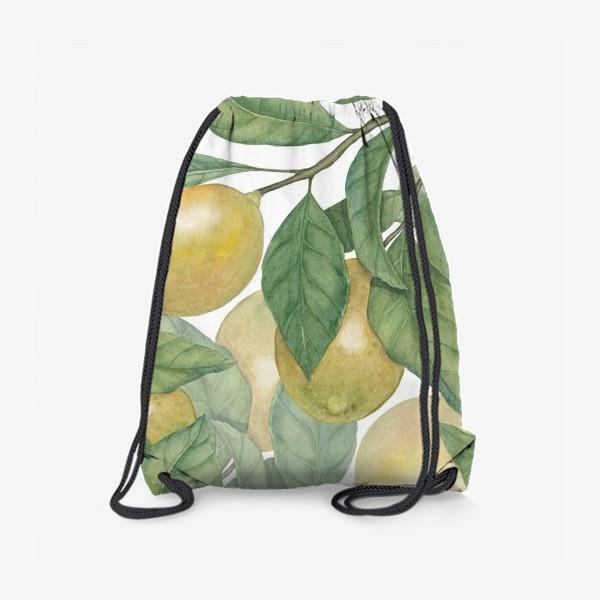 Рюкзак «Лимоны»