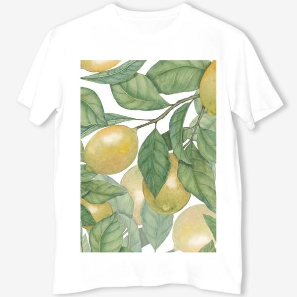 Футболка «Лимоны»