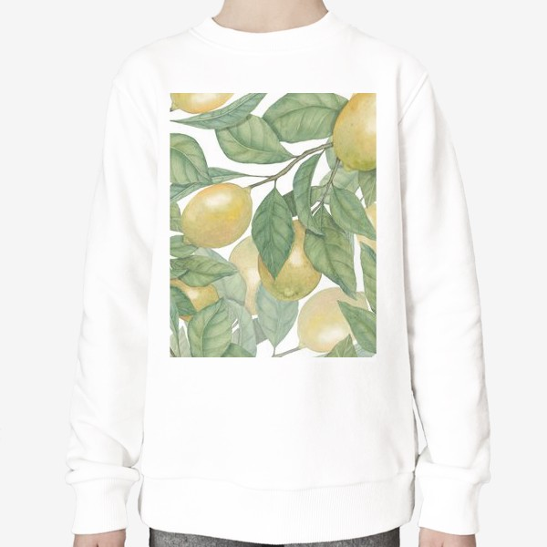 Свитшот «Лимоны»