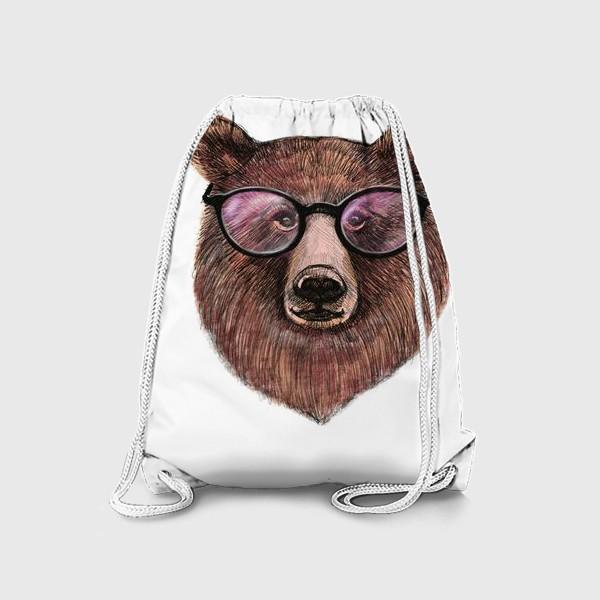 Рюкзак «медведь в очках»