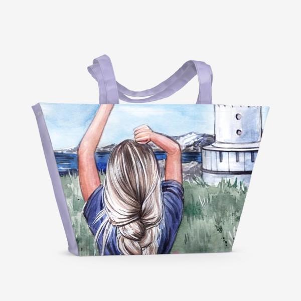 Пляжная сумка «В унисон с природой»