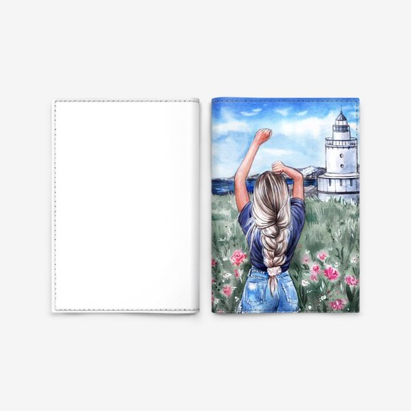 Обложка для паспорта «В унисон с природой»