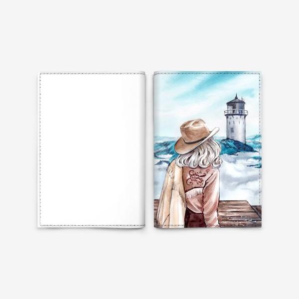 Обложка для паспорта «между небом и землей»