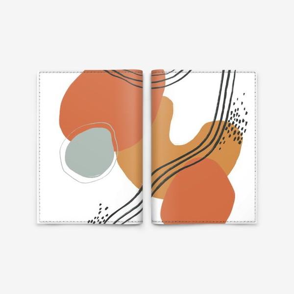 Обложка для паспорта «Абстракция 5»