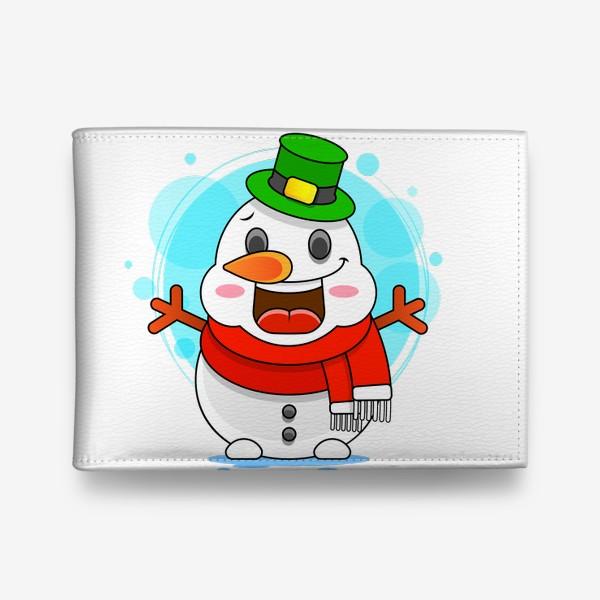Кошелек «Снеговик»