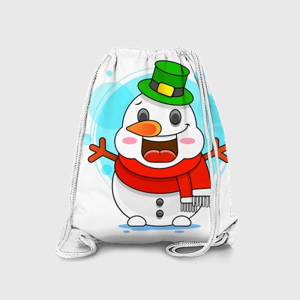 Рюкзак «Снеговик»
