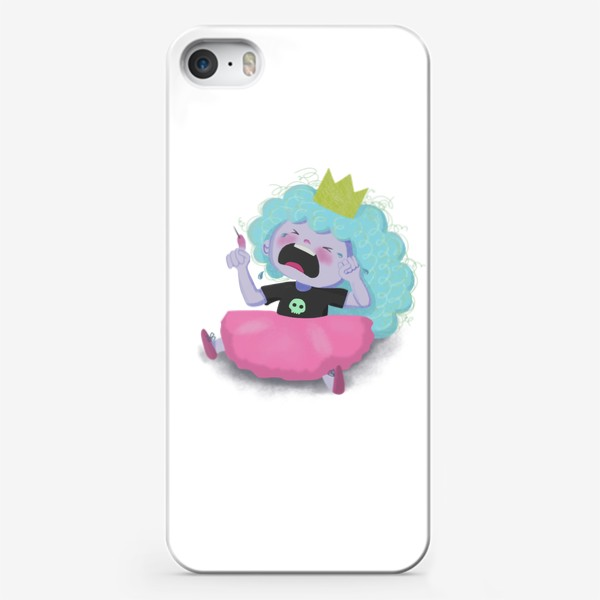 Чехол iPhone «Внучка Кощея Бессмертного »