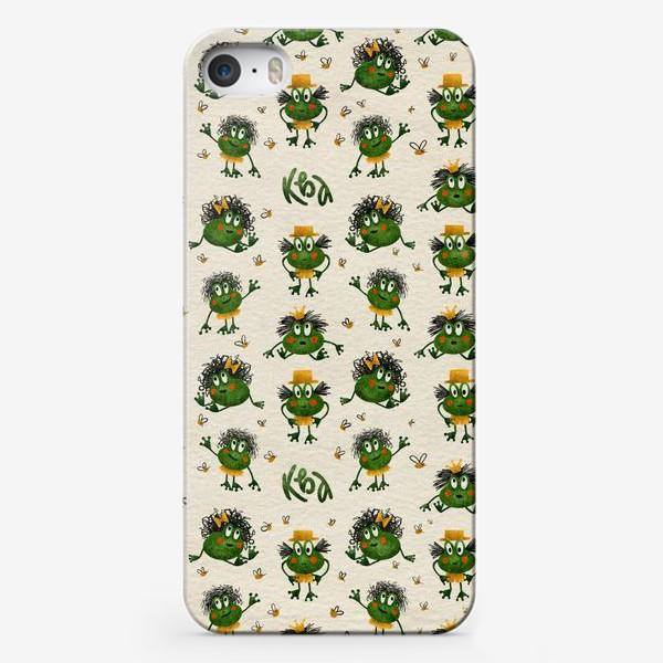 Чехол iPhone «Лягушки»