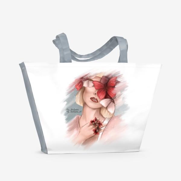 Пляжная сумка «Нежность»