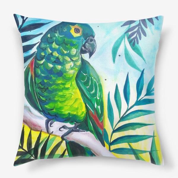 Подушка «В тропиках»
