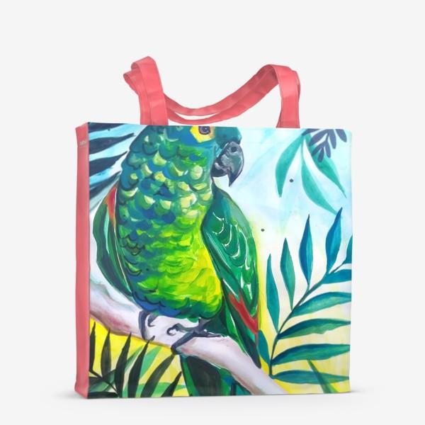 Сумка-шоппер «В тропиках»