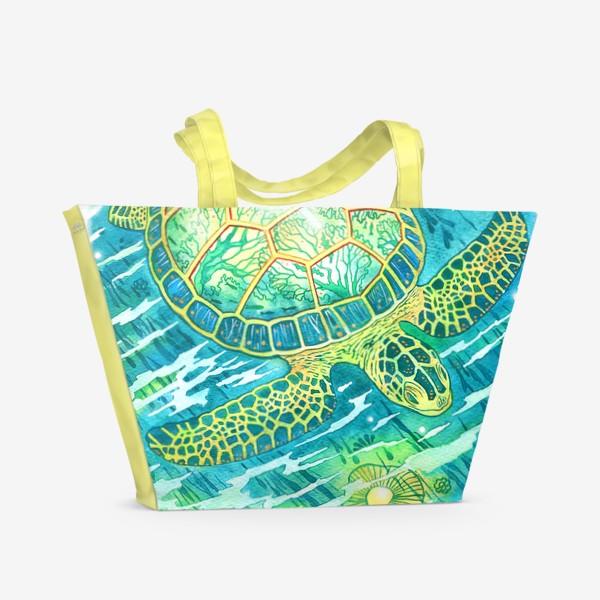 Пляжная сумка «Черепашка»