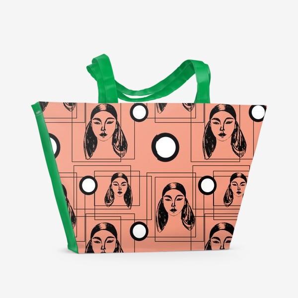 Пляжная сумка «Ретро стиль»