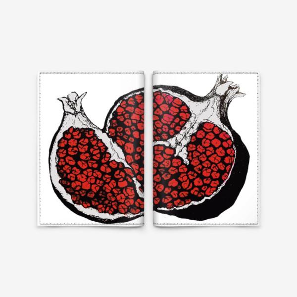 Обложка для паспорта «Грозный гранат»