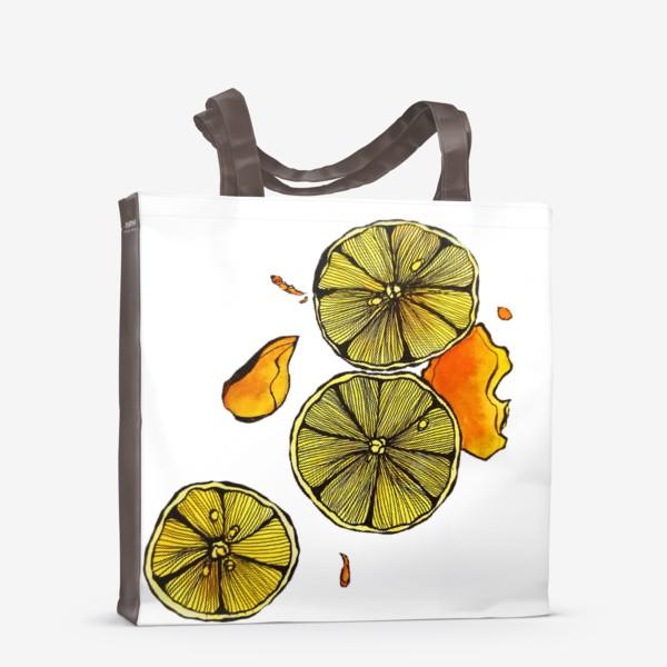 Сумка-шоппер «Сочный цитрус»