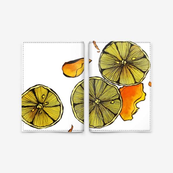 Обложка для паспорта «Сочный цитрус»