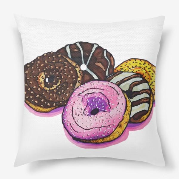 Подушка «Сладкие покупки»